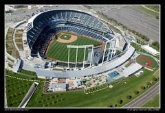Kauffman Stadium, Kansas City, Missouri (SkylineScenes (Bill Cobb)) Tags: city sports k midwest baseball stadium aerial kansascity missouri kansas kc complex truman kcmo mlb royals kauffman