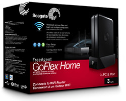 Setting up and using the Seagate GoFlex Home storage system