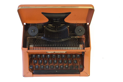 Tom Thumb toy typewriter