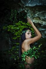 Ivy (RiccardoDelfanti) Tags: girl beauty foglie fineart  dream leafs riccardo bosco sogno spirito delfanti riccardodelfanti riccardodelfantiphotography riccardodelfanticom