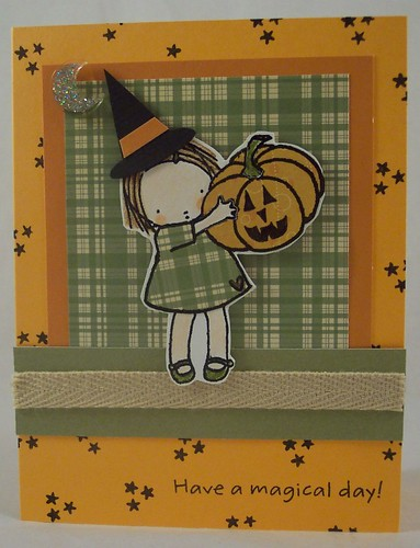 Little Witch Card