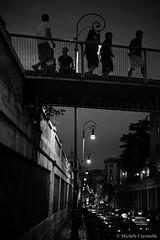 Verso una nuova Metropolis (michele ciavarella) Tags: street italien blackandwhite italy rome roma film nikon italia tramonto centro streetphotography cielo michele coliseum settembre foriimperiali metropolitana photoshopcs2 biancoenero lazio turisti monti città colosseo viadeiserpenti fritzlang viadeiforiimperiali quartiere 2011 pedonale oppressione romamor suburra ciavarella cieloromano micheleciavarella sigma2470f28ifexdghsm