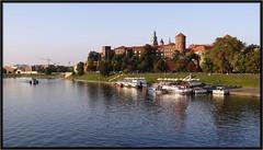 DSC01556_jnowak64 (jnowak64) Tags: poland polska krakow cracow wisla mik malopolska zamek architektura jesien statek krajobraz krakoff