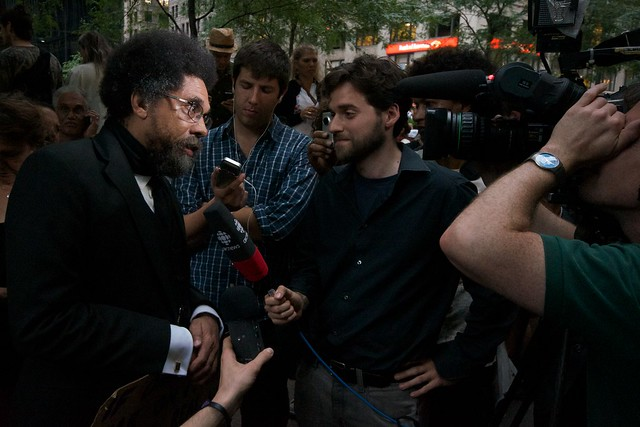 Occupy Wall Street -- Cornell West