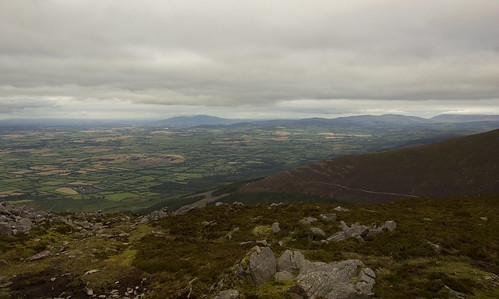 Slievenamon and the Comeraghs from Sugarloaf Hill