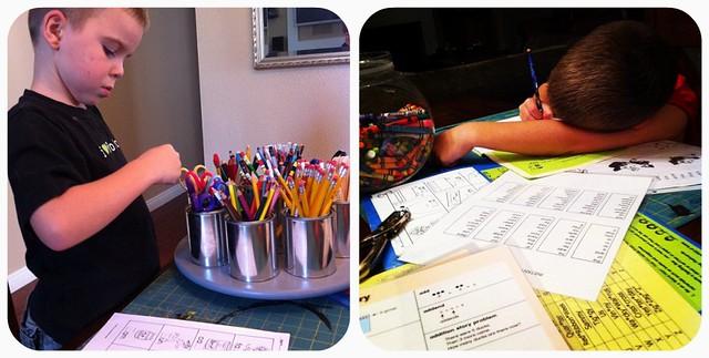 First Grade Homework