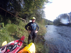 Andy (Jist A Blether) Tags: friends river scotland kayak callander teith