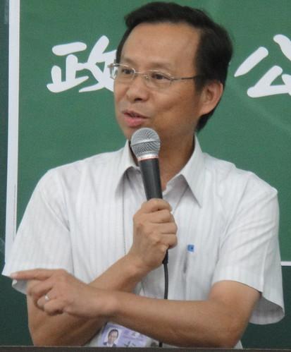 環保署長沈世宏於研討會致詞