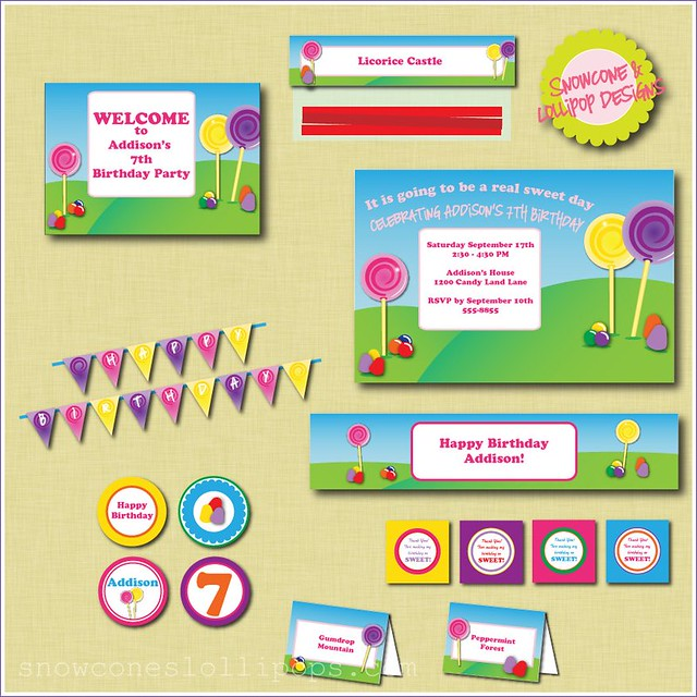 printable candy land collection