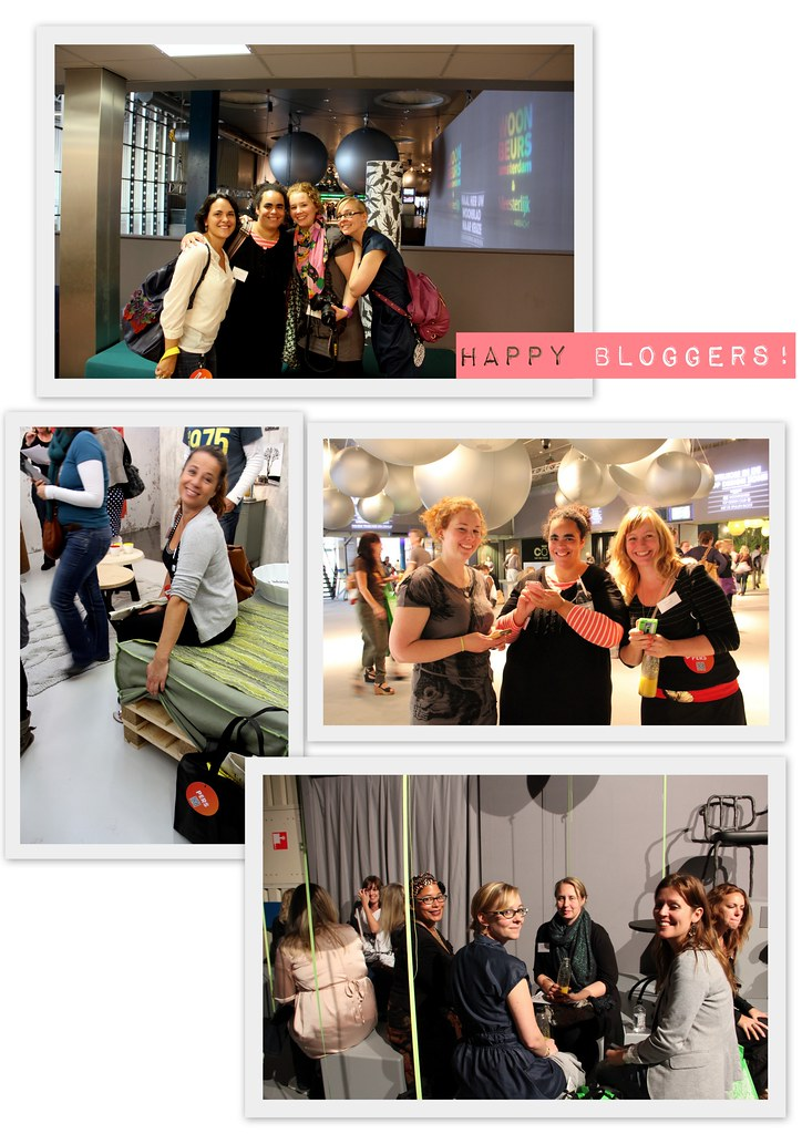 Woonbeurs - happy bloggers!