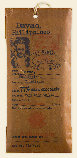 davao chocolate bar