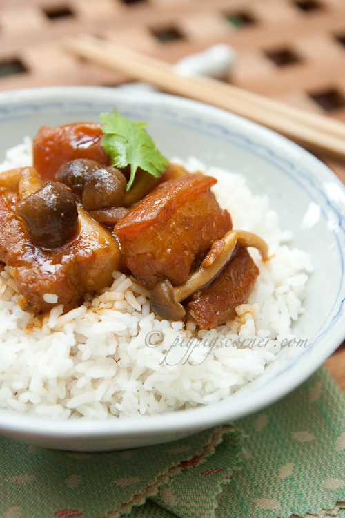 Thai Style Braised Pork Belly