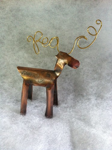 Reindeer for Aspiring Metalsmiths Animal Challenge