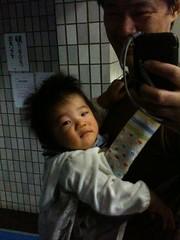 朝散歩とらちゃん(2011/9/30)