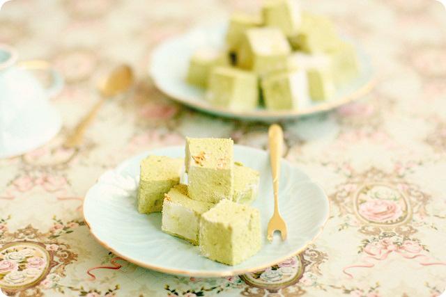 Matcha Marshmallows (Guimauve Thé Vert Matcha)