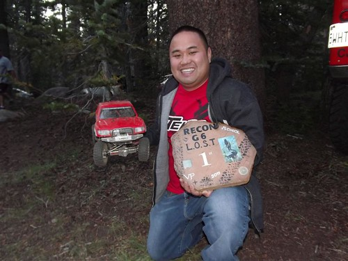 And Michael 'StopWatch' Pham to home 1st place Axial Recon G6 The Legend of Snowshoe Thompson aka L.O.S.T.