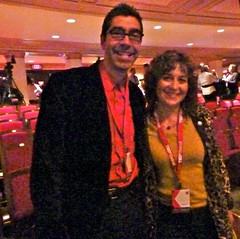Chris and Deb at TEDxDetroit 2011 (Tatiana12) Tags: michigan detroit generations innovation connection entrepreneurs connections networks 2011 reveln revelnconsulting debnystrom tedxdetroit