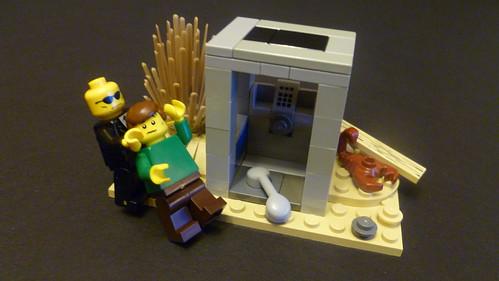 Flickriver Photoset Art Bell Lego By Lego Monster Guy