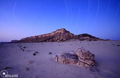 Stars Landscape (Faisal Alzeer) Tags: blue night landscape star photo sand nikon long desert arabia 1020 riyadh  faisal ksa saudis                    fnz colorphotoaward   trils segma   d300s    alzeer  abonasser      exporser