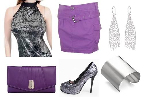 how to wear silver leopard top
