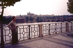 Paul Ellingworth (Normann) Tags: bridge river prague praha czechoslovakia moldau cssr