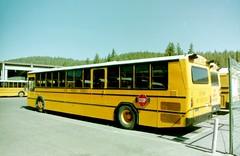 Tahoe Truckee Schools (crown426) Tags: california 2001 bus 35mm august schoolbus phantom gillig truckee scannedimage tahoetruckeeschools