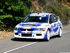 Mitsubishi Evo IX+ Pedro Flores - Subida al Piélago 2011
