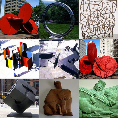 Tony Rosenthal Sculpture Selections