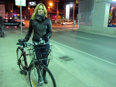How do bikes and art intersect in your life?