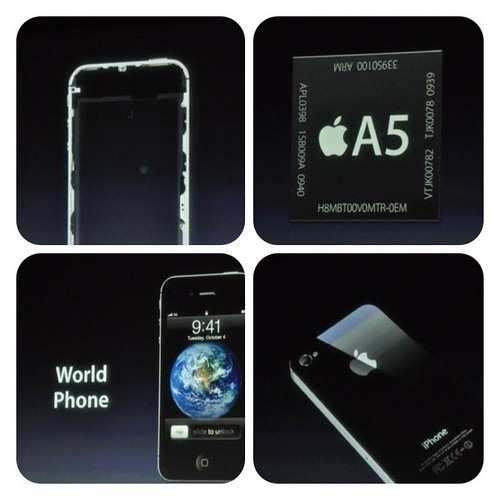 Talking too much about iPhone 4S!!! Arrrrr... I got a bad feeling!!! One More Thing is gone with Steve Jobs... :(