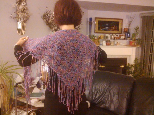Larger shawl