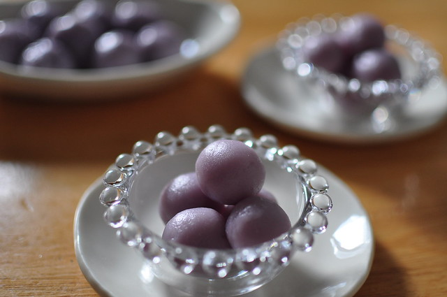 purple sweet potato dango-2