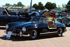 Mercedes Benz 300SL gullwing (scott597) Tags: church downs mercedes benz kentucky ky hill louisville concours 300sl gullwing 2011