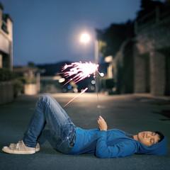 357/365 (brandonhuang) Tags: canon 50mm nikon bokeh sparklers nikkor sparkler sparks spark ais f12 brandonhuang