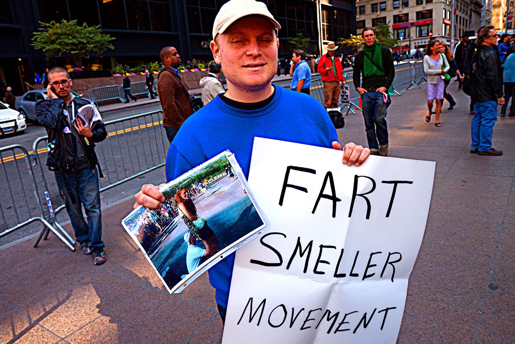 smeller movement Fart