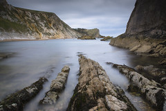 Roots of the Cliffs (Ben Tite) Tags: ocean uk longexposure sea england seascape rock landscape wideangle cliffs formation dorset slowshutter manowar jurassiccoast nd110