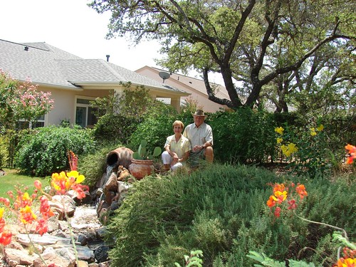 My mom and dad: gardeners of the month