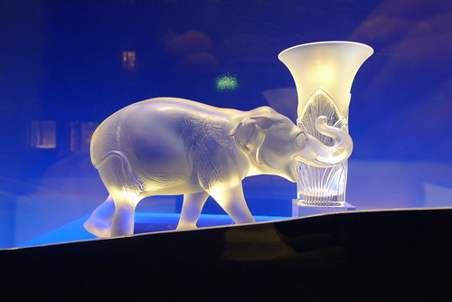 Vitrines Lalique par Stéphanie Moisan - Paris, octobre 2011