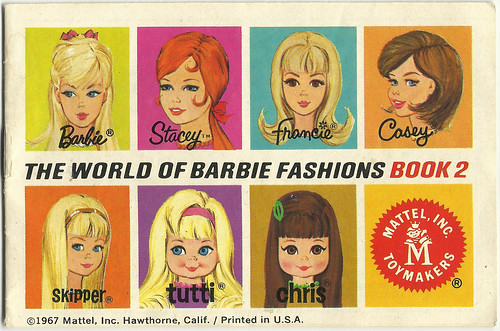 World of Barbie Catalogue Cover (1972)