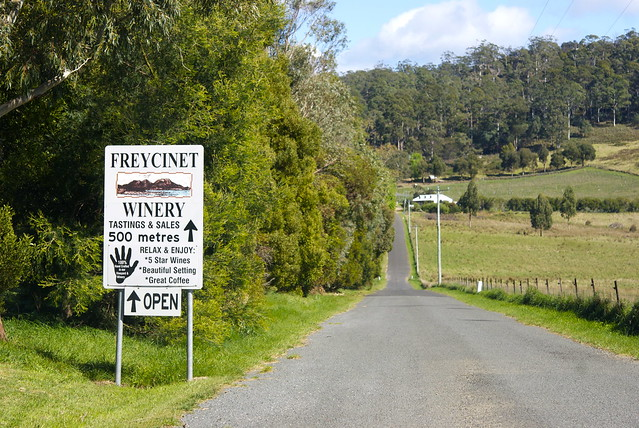23-09-2011 - Freycinet National Park - Freycinet Wineyard - Tasmania