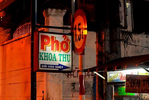 Pho Khoa Thu - Ho Chi Minh City