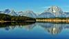 All Quiet at the Lake (Jeff Clow) Tags: lake mountains nature bravo quiet wyoming tetons grandtetonnationalpark jacksonlake jacksonholewyoming