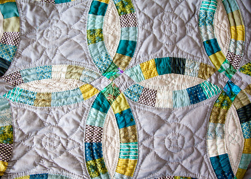 DWR Hand Quilting Detail by carriestrine