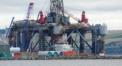 Tib B West Dock (ronnie.cameron2009) Tags: docks scotland scottish windmills cranes drydock oilrig invergordon scottishhighlands cromartyfirth rossshire highlandsofscotland rosscromarty supplyboats scottishhighlandsofscotland