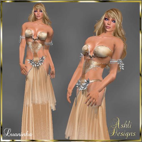 Luaninha-Peach - Ashli Designs, 149 lindens by Cherokeeh Asteria