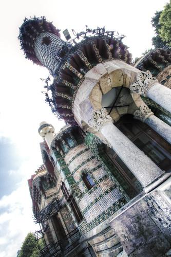Capricho of Gaudí. Comillas, Cantabria. Capricho de Gaudí