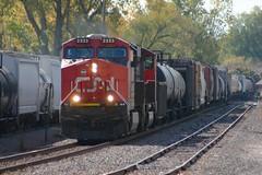 New Kid (Wide Cab) Tags: cn train freight canadiannational manifest oshkoshwi a447 neenahsub