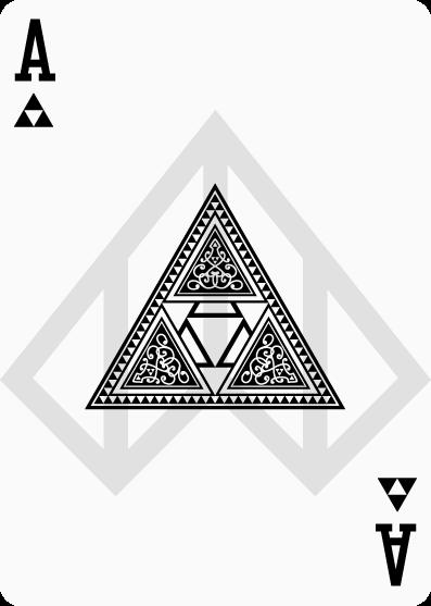 Cartas de póquer de Zelda 2