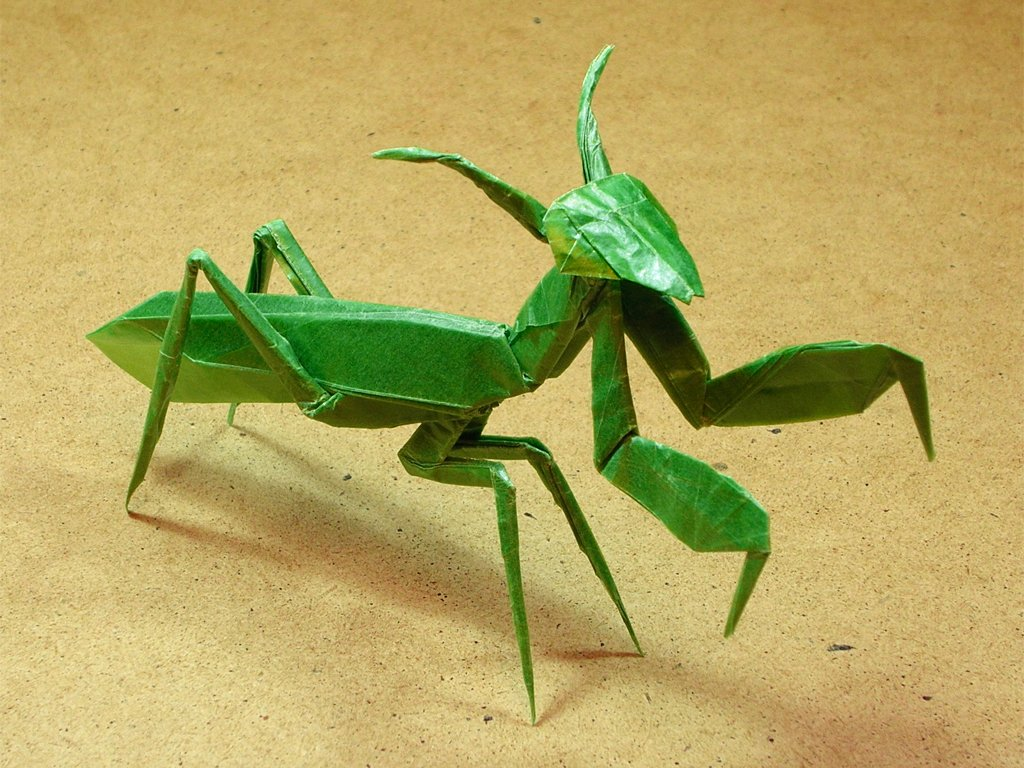 origami praying mantis 28 images 24 more amazingly