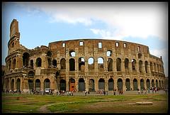 The Bloody Colosseum (Lygia Uchoa) Tags: trip italy rome roma arquitetura canon fight blood europa europe monumento viagem canoneos passado sangue itlia antigo coliseu construao gladiador lutas canoneos60d